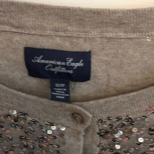 American Eagle Outfitters Sweaters - Sequined American Eagle Cardigan xs